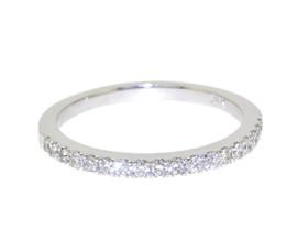 14K White Gold Diamond Wedding Band By Shin Brothers Jewelers Inc.11005509