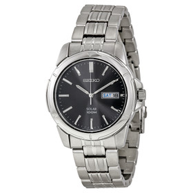 Seiko Men's SNE093 Stainless Steel Solar Watch By Shin Brothers Inc.