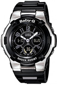 Baby-G BGA110-1B2 Shock Resistant Black Sport Watch 63010053