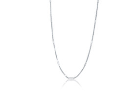 "14K White Gold 22"" Box Chain 30002132"