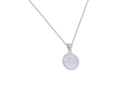 Sterling Silver Best Friend Necklace