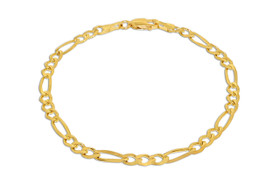 "14K Yellow Gold 7"" Figaro Bracelet 20001441"
