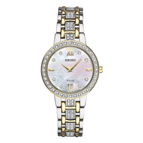 Seiko Women's Two Tone Watch Model: SUP360