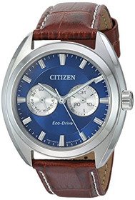 Citizen Men's Dress' Quartz Leather Casual Watch Model: BU4010-05L