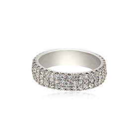 14K White Gold Diamond Band 11005713