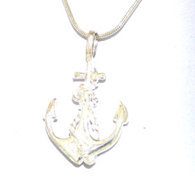Sterling Silver Anchor Charm 85010532
