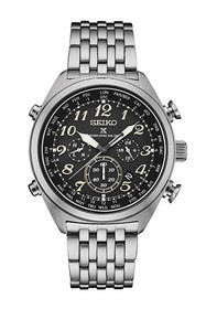 Seiko SSG017 Mens PROSPEX Radio Controlled WT Solar Chrono Watch w/ Date