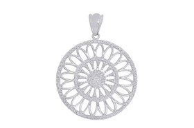Sterling Silver Circle Pendant 85010576