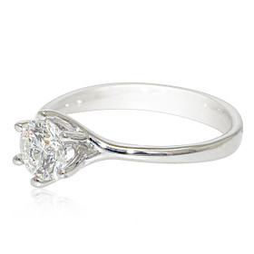 14K White Gold 1.75 carat Diamond Engagement Ring