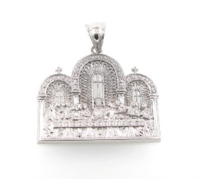 Sterling Silver Last Supper Charm