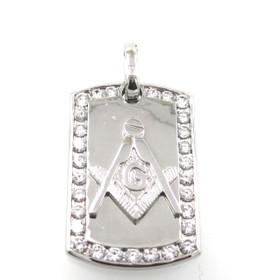 Sterling Silver Masonic Charm 85210549
