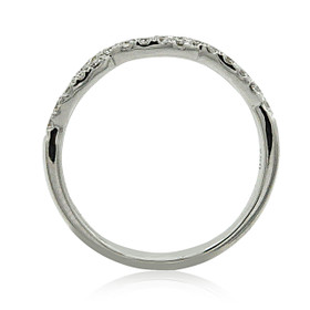 18K White Gold Diamond Wedding Band 11006041
