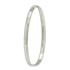 Sterling Silver Herringbone Bracelet 82010724