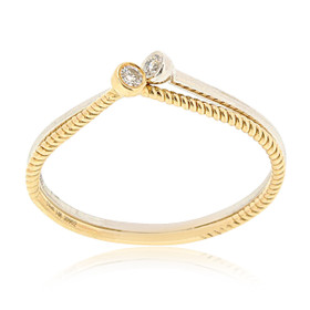 14K White and Yellow Gold 2 Piece Diamond Ring Set 11006095
