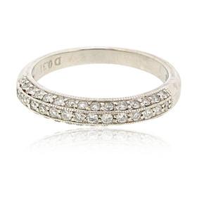 14K White Gold Diamond Band 11006088
