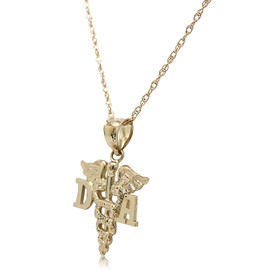 14K Yellow Gold Dental Assistant Charm 50001214