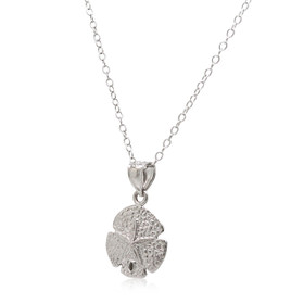 14K White Gold Sand Dollar Charm 50003470
