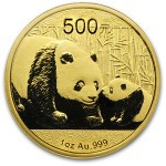 Chinese Panda 1 oz Gold Coin