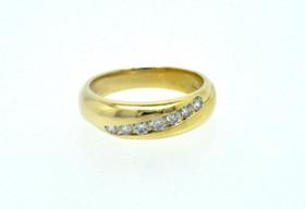18K Yellow Gold 0.52 CTW Diamond Wedding Band 110016139