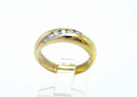 18K Yellow Gold 0.42 CTW Diamond Wedding Band 110016140