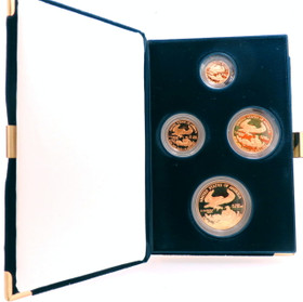 1998 American Gold Eagle Proof Four Coin Set