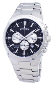 Citizen Men's ' Quartz Stainless Steel Casual Watch, Color:Silver-Toned (Model: AN8170-59E)