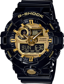 Casio G Shock Mens Watch GA-710GB-1ACR