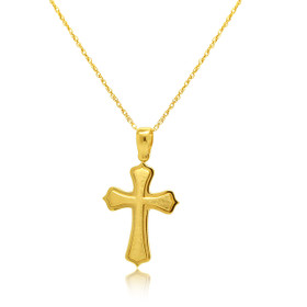 14K Yellow Gold Cross Charm 50003507