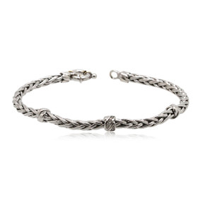 "18K White Gold Diamond 7.5"" Bracelet 21000669"