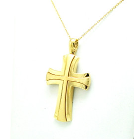 14K Yellow Gold Cross Charm 50003530