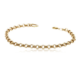 "14K Yellow Gold 8"" Rolo Bracelet 20001629"