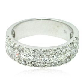 14K White Gold Diamond Band 11006210