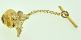 53000028 14K Yellow Gold Angel Pin