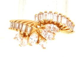 14K Yellow Gold Fancy Diamond Ring 11002072