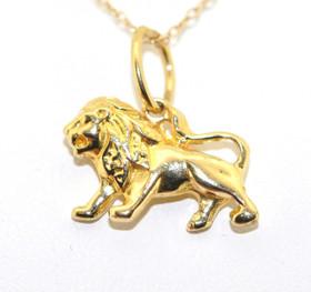 14K Yellow Gold Lion Charm 50001558