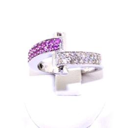 14K White Gold Diamond Ring 12000279