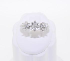 14K White Gold Diamond Ring 11001936