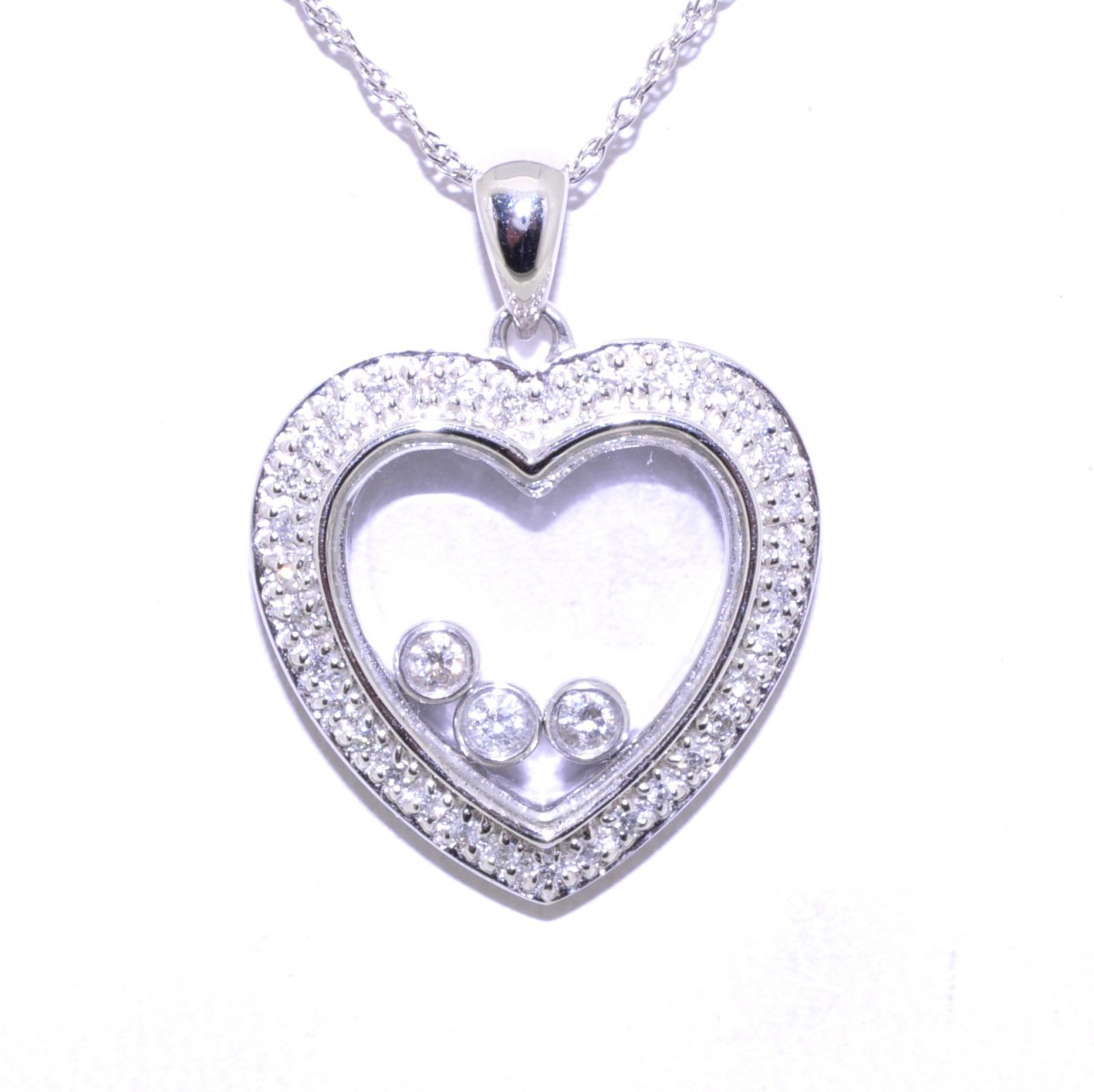 Brother Heart Floating Locket Charm Silver-tone NEW