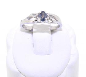 14K White Gold Alexandrite/Diamond Ring 12001090