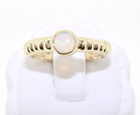 12001580 14K Yellow Gold Opal Ring