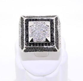 81010141 Sterling Silver Men's Ring