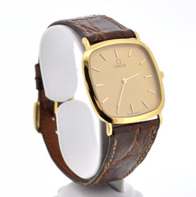 69000080  Omega Men's Gold Filled Pre-Owned Watch