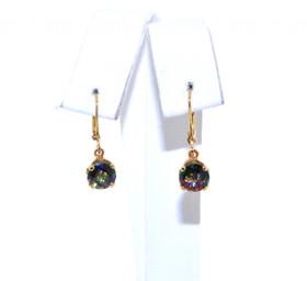 42001735 14K Yellow Gold Mystic Topaz Earrings