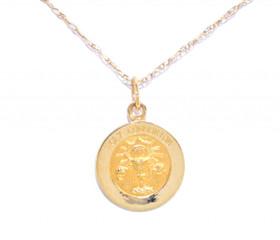 50002126 14K Yellow Gold Holy Communion Charm