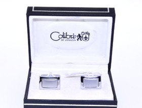 67000002 Colibri Stainless Steel Cuff Links
