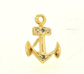 53000061 14K Yellow Gold Anchor Pin
