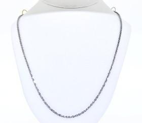 83010342 14K White Gold Fancy Link Bracelet