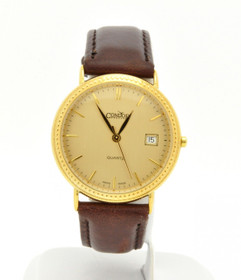 69000073 14K Yellow Gold Men's Preowned Watch