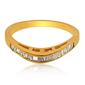 14K Yellow Gold Diamond Wedding Band 11003586