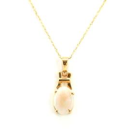 10K Yellow Gold Opal Charm 59000145